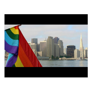 Cartão Postal Orgulho de San Francisco