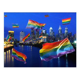Cartão Postal Orgulho do vôo de Philadelphfia