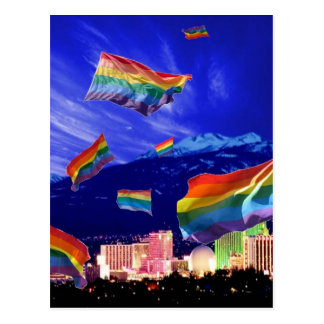 Cartão Postal Orgulho do vôo de Reno
