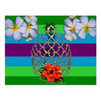 Cartão Postal Orgulho polinésio da diva