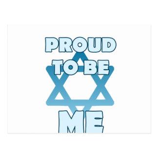 Cartão Postal Orgulhoso ser judaico