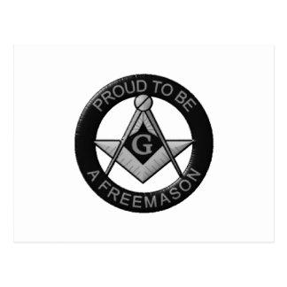 Cartão Postal Orgulhoso ser um Freemason