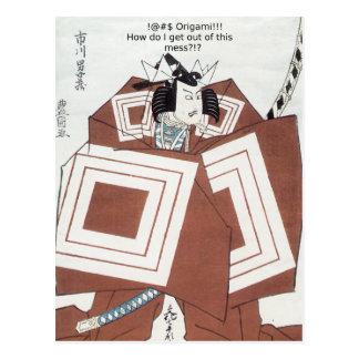 Cartão Postal ! @#$ Origami!!!