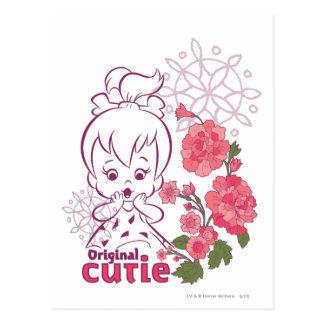 Cartão Postal Original Cutie de PEBBLES™