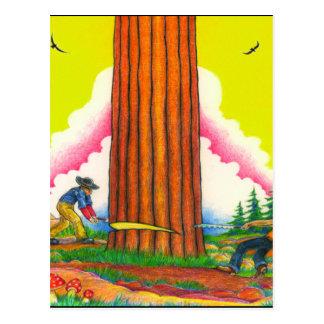 Cartão Postal Original da Um-PODEROSO-ÁRVORe-Página 8