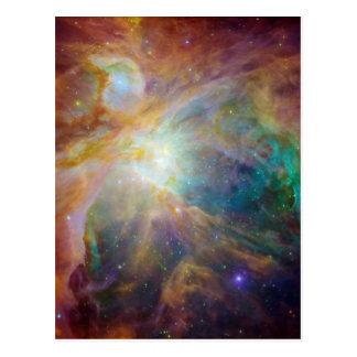 Cartão Postal Orion no infravermelho