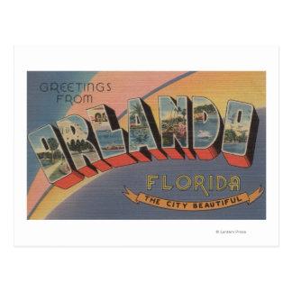 Cartão Postal Orlando, Florida - grandes cenas 2 da letra