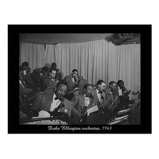 Cartão Postal Orquestra de Duke Ellington, 1943