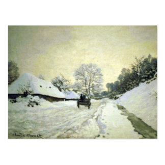 Cartão Postal Orsay-brut por Claude Monet