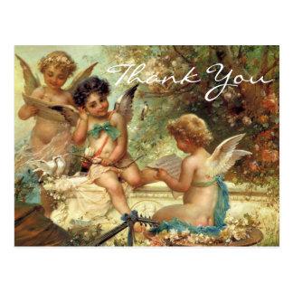 Cartão Postal Os 3 anjos de Zatzka