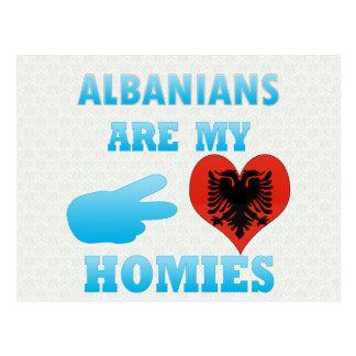 Cartão Postal Os albanêses são meu Homies