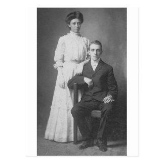 Cartão Postal os anos 20 que Wedding a imagem