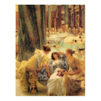 Cartão Postal Os banhos de Caracalla