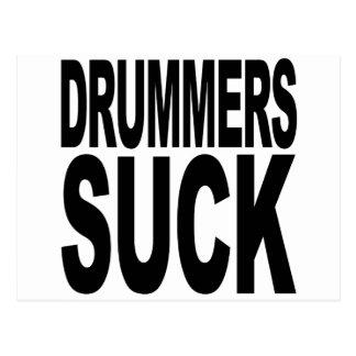 Cartão Postal Os bateristas sugam