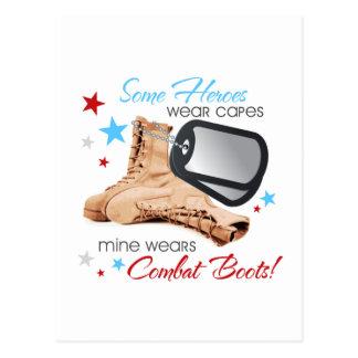 Cartão Postal Os cabos do desgaste de alguns heróis, mina vestem