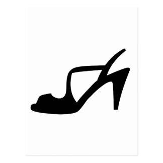 Cartão Postal Os calçados da mulher
