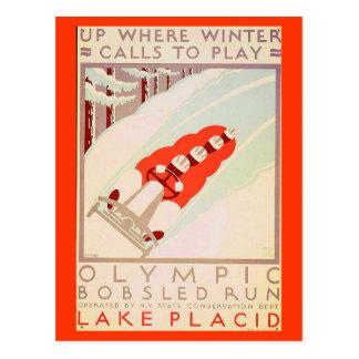 Cartão Postal Os Cartão-Esportes/Vintage ostentam a arte 17