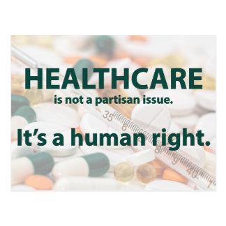 Cartão Postal Os cuidados médicos são um direito humano
