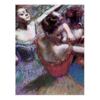 Cartão Postal Os dançarinos desgaseificam perto