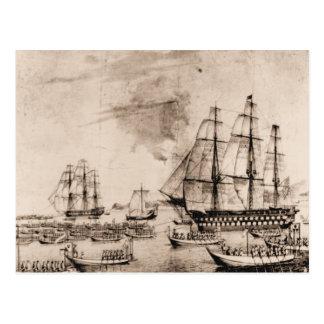 Cartão Postal Os E.U. enviam o século XIX
