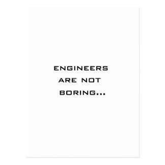 Cartão Postal Os engenheiros não estão furando