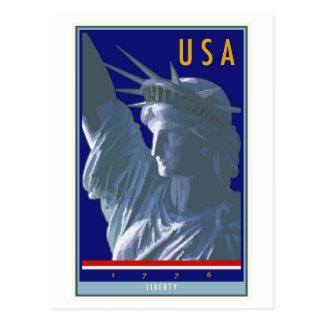 Cartão Postal Os Estados Unidos