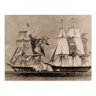 Cartão Postal Os Estados Unidos do navio dos E.U. do navio dos