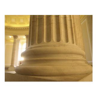Cartão Postal Os Estados Unidos, Washington, C.C. Uma coluna no