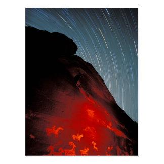 Cartão Postal Os EUA, Utá, arqueiam o parque nacional,