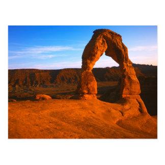Cartão Postal Os EUA, Utá, arqueiam o parque nacional, arco