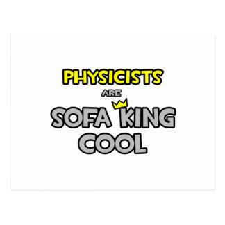 Cartão Postal Os físicos são rei Refrigerar do sofá