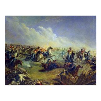Cartão Postal Os hussars da guarda que atacam perto de Varsóvia