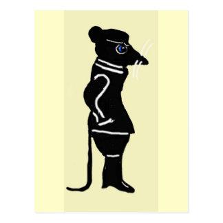 Cartão Postal Os meandro do rato