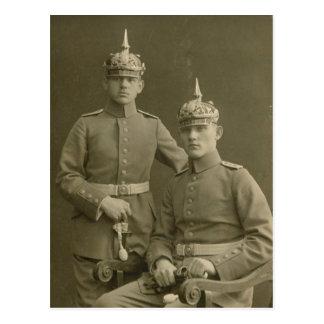 Cartão Postal Os meninos do Kaiser
