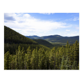 Cartão Postal Os montes de Alberta Canadá