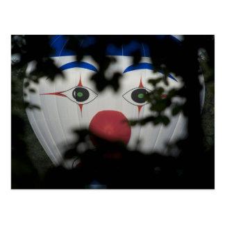 Cartão Postal Os olhos de um palhaço