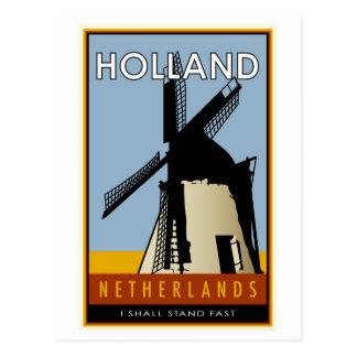 Cartão Postal os Países Baixos