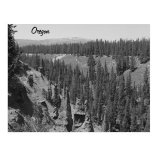 Cartão Postal Os pináculos, lago crater