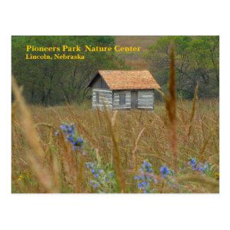 Cartão Postal Os pioneiros estacionam a natureza Lincoln Center,