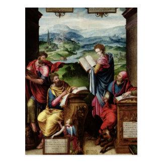 Cartão Postal Os quatro evangelistas