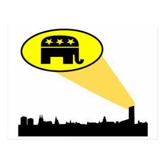 Cartão Postal Os republicanos e o trunfo seu país precisam-no