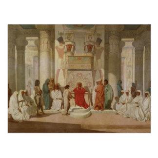 Cartão Postal Os sonhos do Pharaoh de explicação de Joseph