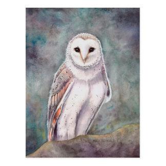 Cartão Postal Os trabalhos de arte da aguarela dos animais