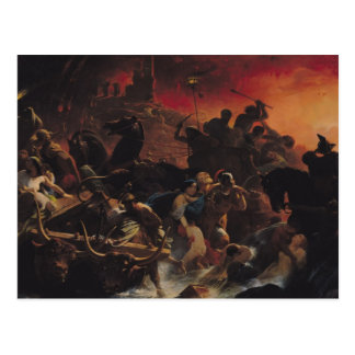 Cartão Postal Os últimos dias de Pompeii