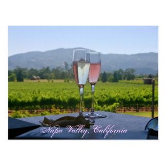 Cartão Postal Os vinhedos de Napa Valley