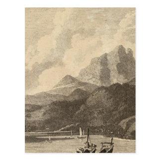 Cartão Postal Otaheite, Polinésia