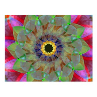 Cartão Postal Ouro de Floramoeba