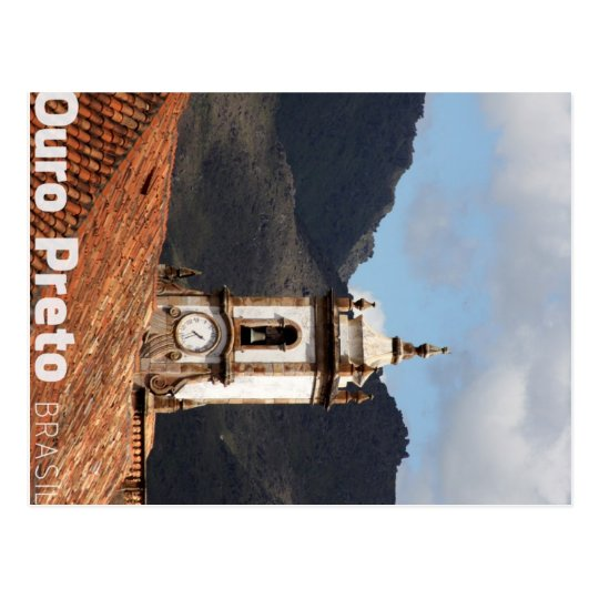 Cartão Postal Ouro Preto Postcard