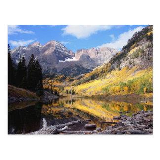 Cartão Postal Outono marrom de Bels Colorado