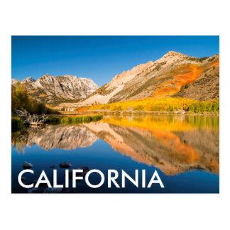 Cartão Postal Outono no lago norte, Califórnia